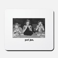 Knitting - Purl Jam Mousepad
