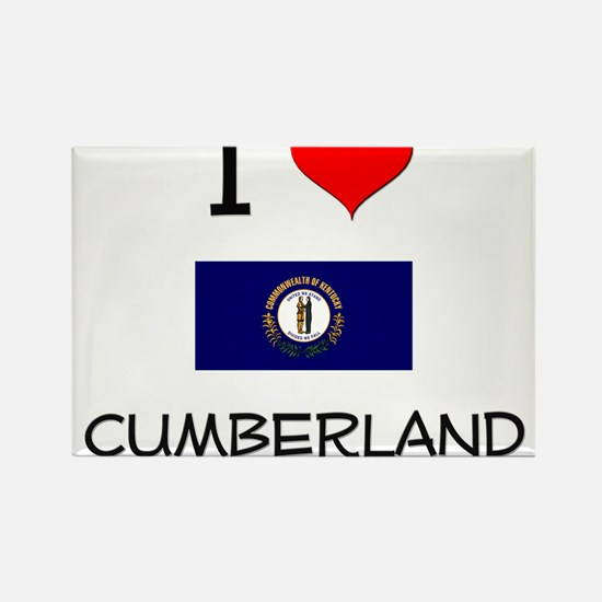 I Love CUMBERLAND Kentucky Magnets