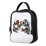 Neoprene Lunch Bag I Love Cats