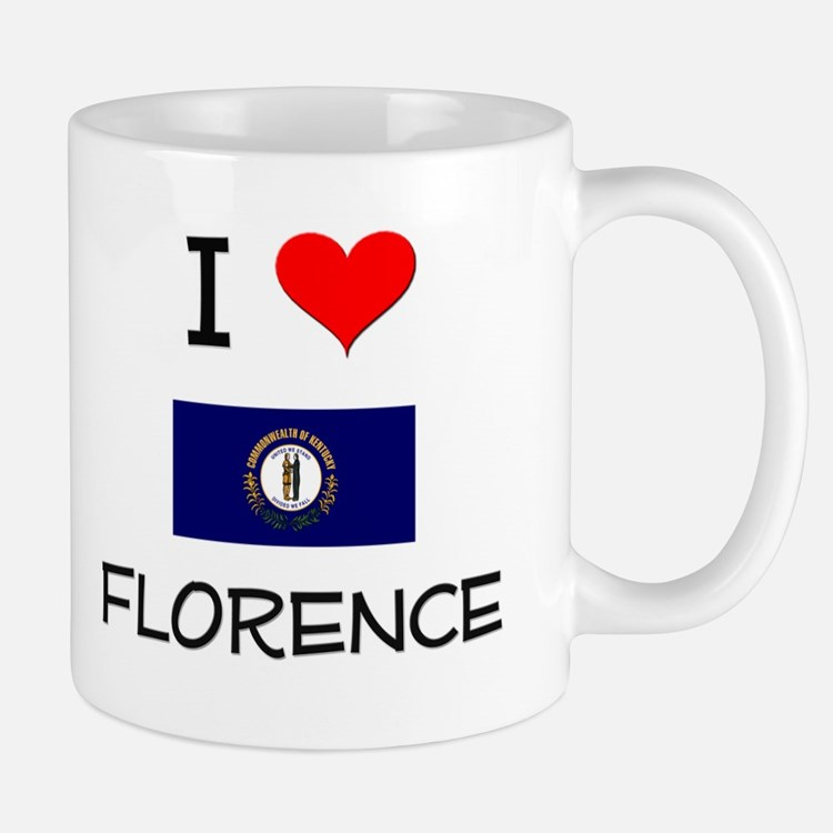 I Love FLORENCE Kentucky Mugs