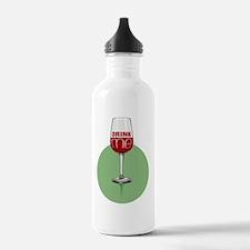 Cute Wine job Water Bottle