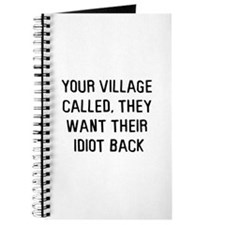 Your village called Journal
