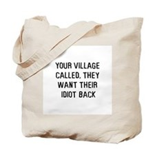Your village called Tote Bag