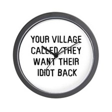 Your village called Wall Clock