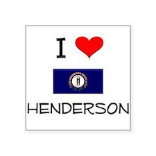 I Love HENDERSON Kentucky Sticker