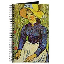 Van Gogh: Young Peasant Girl in a Straw Ha Journal