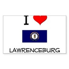 I Love LAWRENCEBURG Kentucky Decal