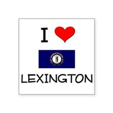 I Love LEXINGTON Kentucky Sticker