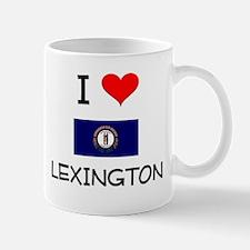 I Love LEXINGTON Kentucky Mugs