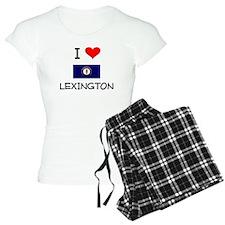 I Love LEXINGTON Kentucky Pajamas