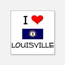 I Love LOUISVILLE Kentucky Sticker