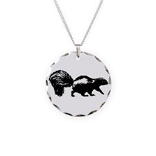 Skunk Logo Necklace
