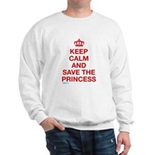 Keep Calm And Save The Princess Jumper