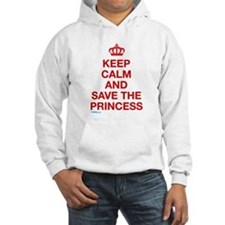 Keep Calm And Save The Princess Jumper Hoody