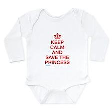 Keep Calm And Save The Princess Long Sleeve Infant