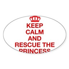 Keep Calm And Resuce The Princess Decal