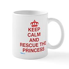 Keep Calm And Resuce The Princess Mug