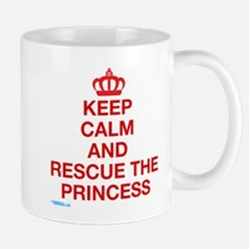 Keep Calm And Resuce The Princess Mug