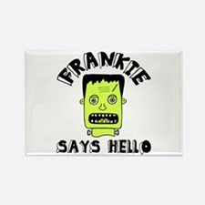 'Frankie' Rectangle Magnet
