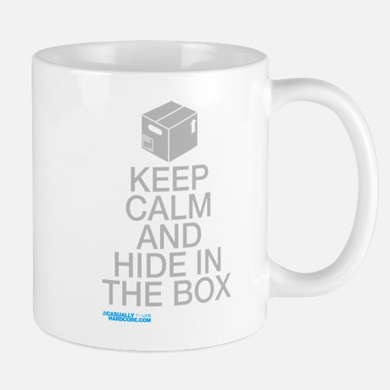 Keep Calm And Hide In The Box Mug