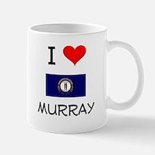 I Love MURRAY Kentucky Mugs