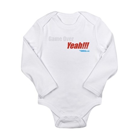 Game Over Yeah!!! Long Sleeve Infant Bodysuit