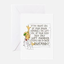 If LEFT HANDED peop Greeting Cards (Pk of 10)