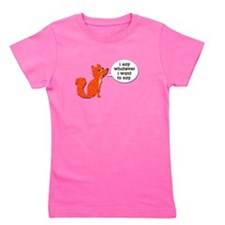 What does the fox say Girl's Tee