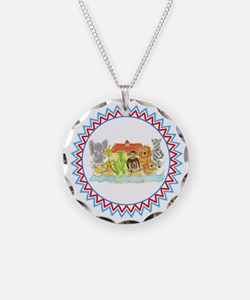 Noah's Ark Critters Zig Zag Necklace