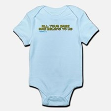 All Your Base Are Belong To Us Infant Bodysuit