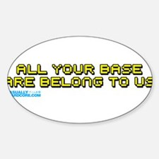 All Your Base Are Belong To Us Decal