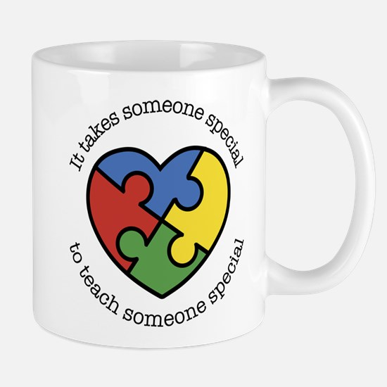 It Takes Someone Special To Teac Mug