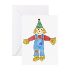 Birthday Scarecrow Greeting Card