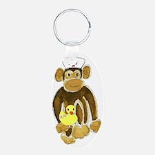 Nurse Monkey Keychains