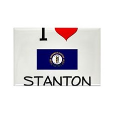 I Love STANTON Kentucky Magnets