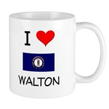 I Love WALTON Kentucky Mugs