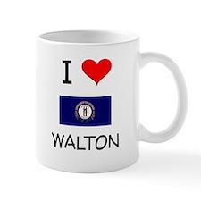 I Love WALTON Kentucky Mugs