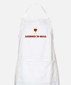 Licensed To Grill BBQ Apron