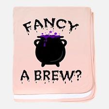 'Fancy a Brew?' baby blanket