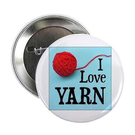 I Love Yarn Button