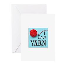 I Love Yarn Greeting Cards (Pk of 10)