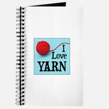 I Love Yarn Journal