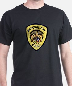 National City Police T-Shirt