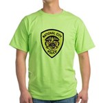 National City Police Green T-Shirt