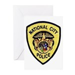 National City Police Greeting Cards (Pk of 10)