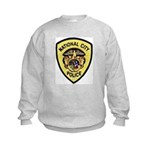 National City Police Kids Sweatshirt