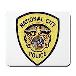 National City Police Mousepad
