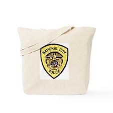 National City Police Tote Bag