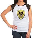 National City Police Women's Cap Sleeve T-Shirt
