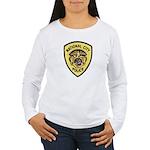 National City Police Women's Long Sleeve T-Shirt